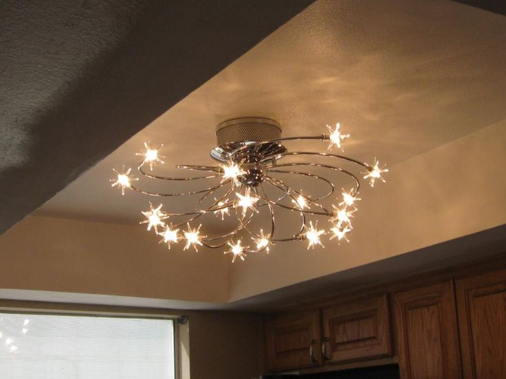Chic 4 Light Ceiling Fixture Kitchen Lovely Kitchen Lights Ceiling And Best 25 Ideas On