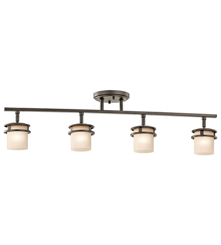 Chic 4 Light Ceiling Light Kichler 7772oz Hendrik 4 Light 120v Olde Bronze Rail Light Ceiling