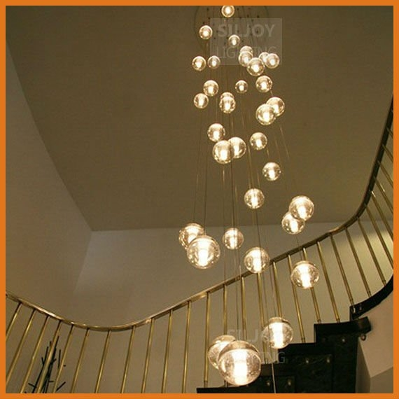Chic Ball Chandelier Light Ball Chandelier Lights Bubble Light Fixture Acrylic Shade Kisa