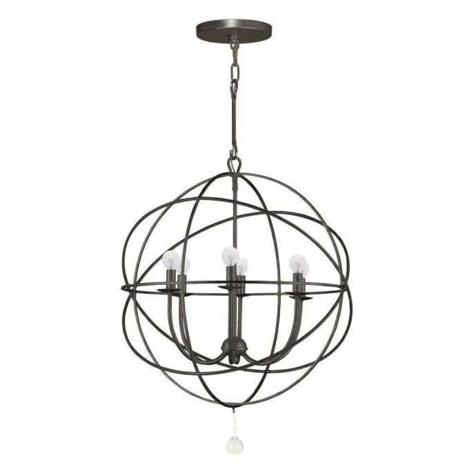 Chic Black Sphere Chandelier Chandelier Small Chandeliers Chandelier Lights Pendant Light
