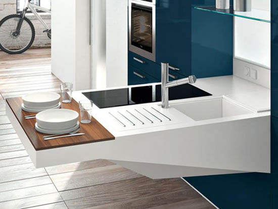 Chic Compact Kitchen Design Small Kitchen Design Ideas Compact Kitchen Board From Snaidero