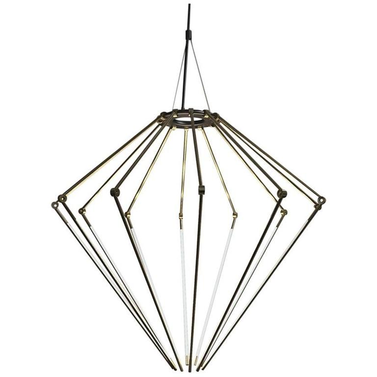 Chic Contemporary Brass Chandelier Contemporary Brass Chandelier Model T With 12 Inch Thin