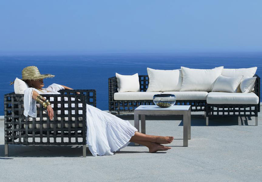 Chic Contemporary Patio Furniture Outdoor Contemporary Furniture