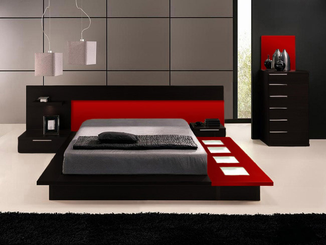 Chic Contemporary Platform Bedroom Sets Bedroom Contemporary Platform Bedroom Sets On Bedroom Pertaining