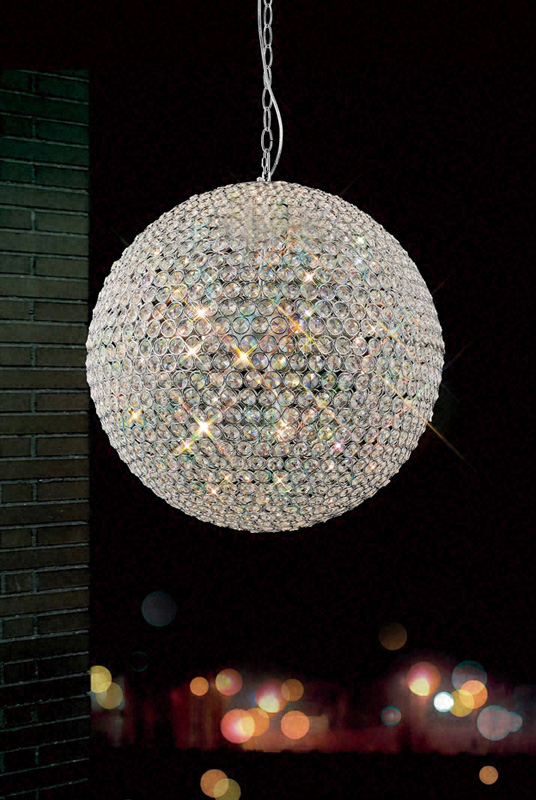 Chic Crystal Ball Chandelier Diamonds R Forever Large Crystal Ball Chandelier 3 Sizes