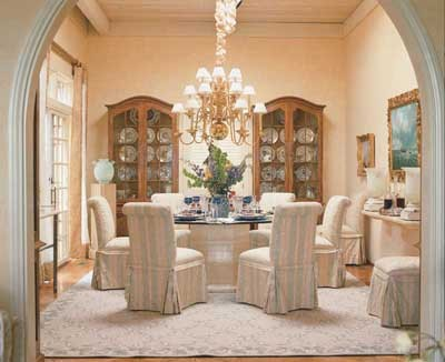 Chic Formal Dining Rooms Elegant Decorating Ideas Dining Room - Decorating-ideas-dining-room