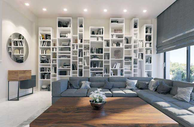 Chic House Interior Design Story House Interior Design With White Dominant Color