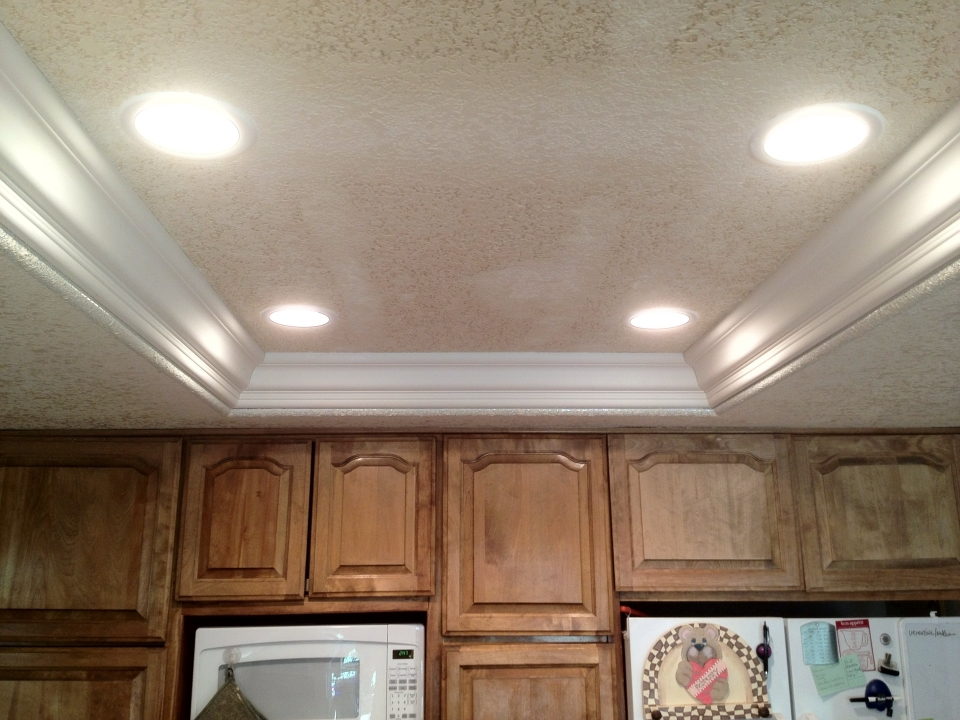 Chic Inside Ceiling Lights Best How To Update Old Kitchen Lights Recessedlighting Inside