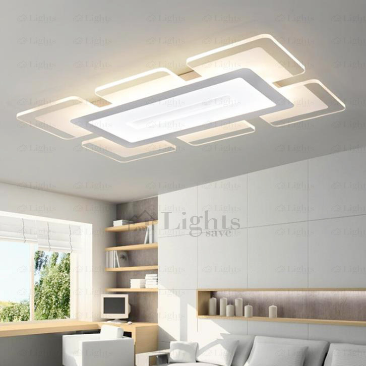 Chic Kitchen Ceiling Lights Quality Acrylic Shade Led Kitchen Ceiling Lights