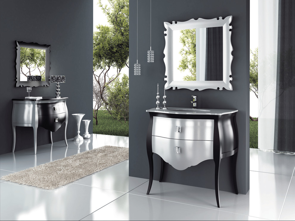 Chic Luxury Bath Furniture Luxury Bathroom Vanities Bathroom Traditional With Bathroom