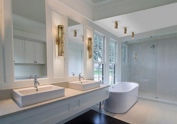 Chic Luxury Bathroom Lighting Upscale Bathroom Lighting Jeffreypeak