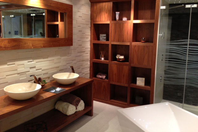 Chic Luxury Bathroom Storage Bespoke Bathroom Storage Concept Design