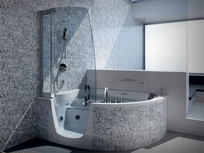 Chic Luxury Bathtubs And Showers Small Bathtub Shower Combo Splendid Corner Stepin Whirlpool Tub