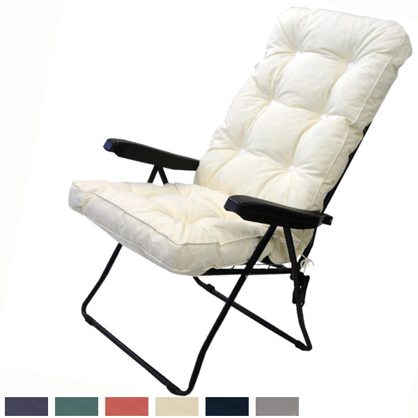 Chic Luxury Garden Recliner Chairs Garden Recliner Cushions Home Furnishings