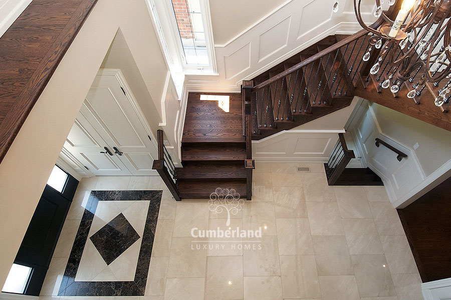 Chic Luxury Home Flooring Luxury Home Builder 2551 Cliff Road Mississauga Home Builder