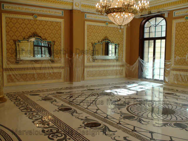 Chic Luxury Marble Flooring Luxury Custom Marble Floor