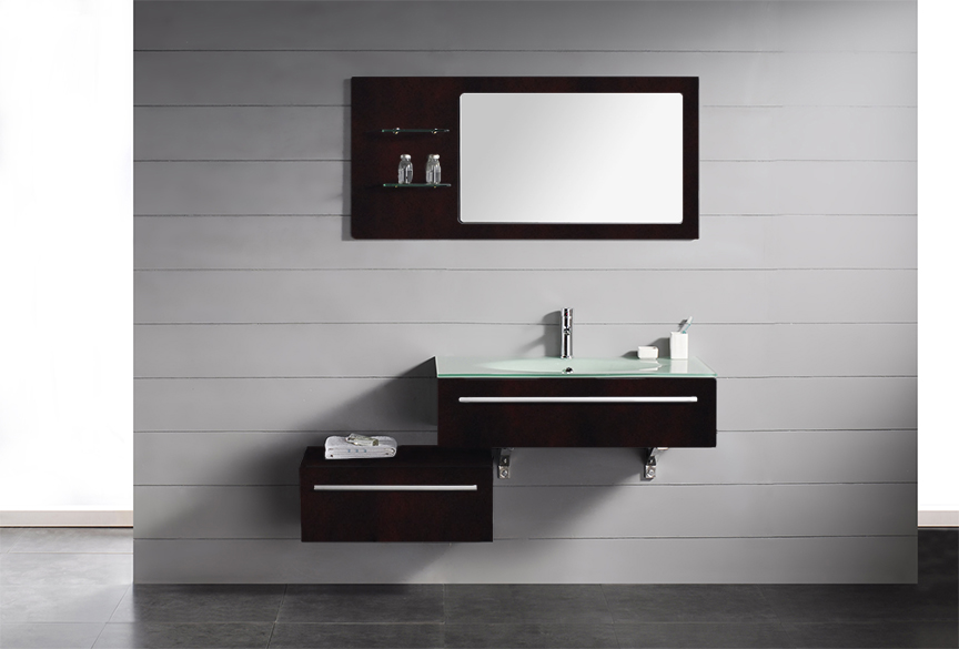 Chic Modern Contemporary Vanity Bathroom Bathroom Vanities Modern Style On Throughout Contemporary