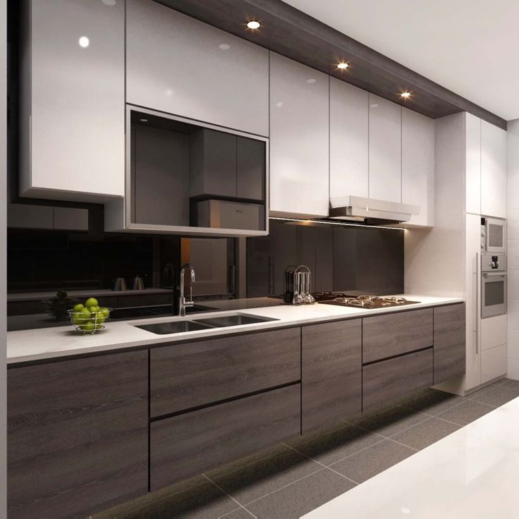 Chic Modern Kitchen Design Cabinets Designer Kitchen Furniture