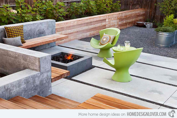 Chic Modern Patio Design Amazing Of Modern Patio Design 15 Contemporary Backyard Patio