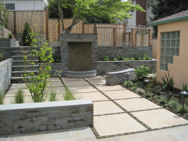 Chic Modern Patio Design Buena Vista Landscape Modern Patio San Francisco