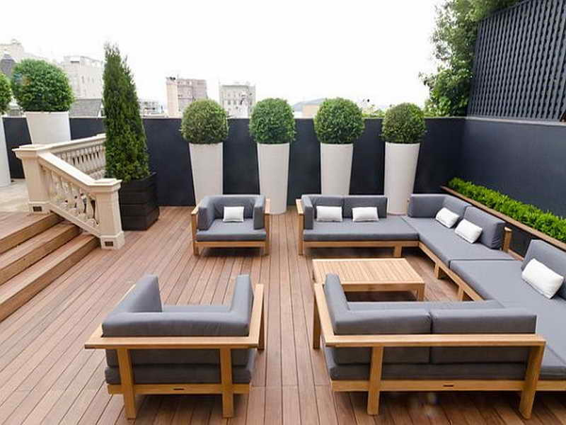 Chic Modern Porch Furniture Lovable Modern Wooden Garden Furniture Garden Furniture Wood