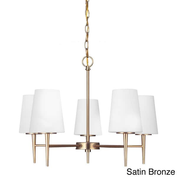 Chic Single Light Chandelier Driscoll 5 Light Single Tier Chandelier Free Shipping Today