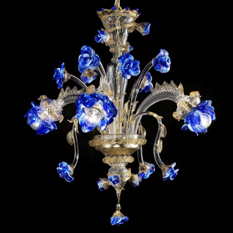 Chic Venetian Glass Chandelier Manin Murano Glass Chandelier Murano Glass Chandeliers