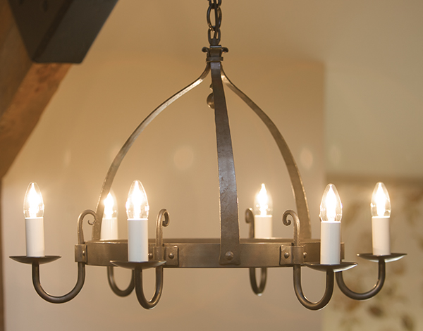 Chic Wrought Iron Chandeliers Mitre 6 Light Wrought Iron Chandelier Mitre Wrought Iron Chandeliers