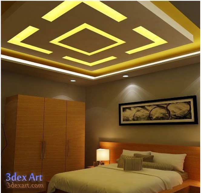 Creative of Ceiling Led Lights Design New False Ceiling Designs Ideas For Bedroom 2018 With Led Lights