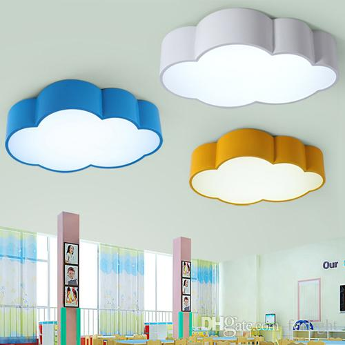 Creative of Cloud Ceiling Light 2018 Led Cloud Kids Room Lighting Children Ceiling Lamp Ba