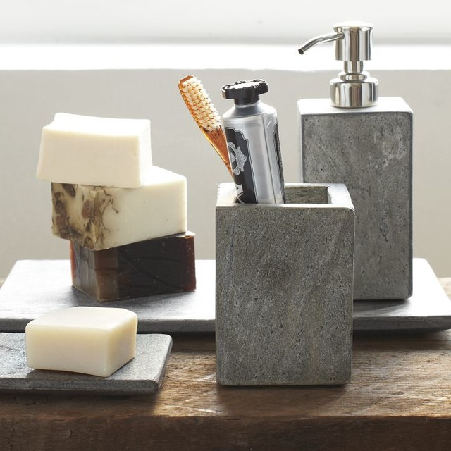 Creative of Contemporary Bath Accessories Modern Bathroom Accessories Slate Bath Accessories Modern Bathroom