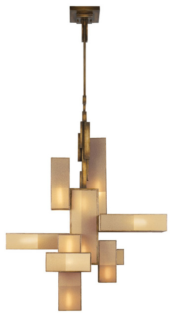 Creative of Contemporary Bronze Chandelier Fine Art Lamps Perspectives Chandelier 732040 Modern