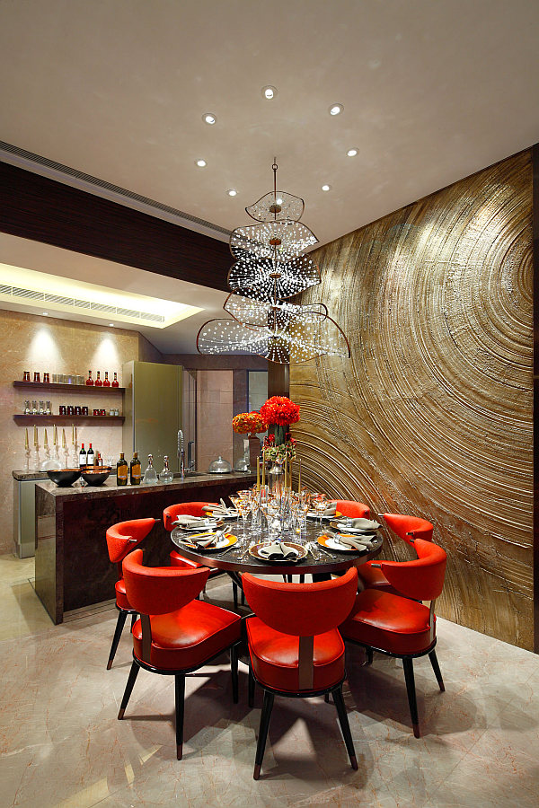 Creative of Contemporary Dining Chandeliers Dining Room Fabulous Modern Dining Room Implemented With Unique