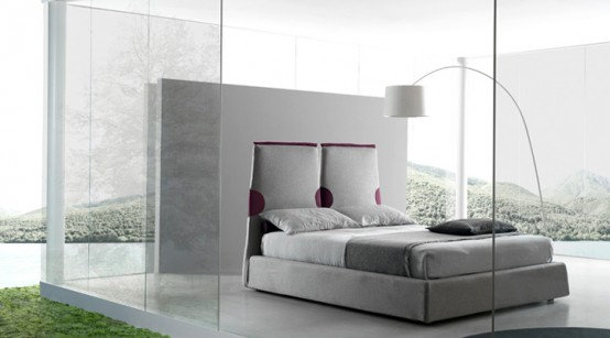 Creative of Contemporary Italian Beds Contemporary Italian Beds Bolzan Digsdigs