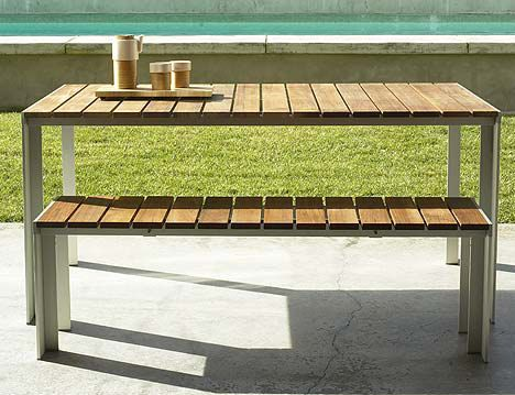 Creative of Contemporary Outdoor Table Best 25 Contemporary Outdoor Dining Tables Ideas On Pinterest