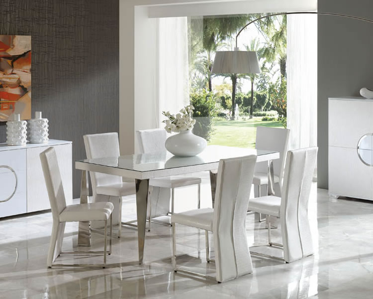 Creative of Italian White Dining Table Dining Sets Round Gallery Dining