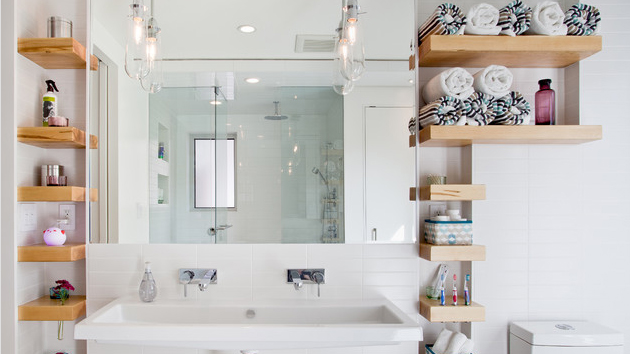 Creative of Luxury Bathroom Shelves 15 Bathroom Shelving Design Ideas Home Design Lover