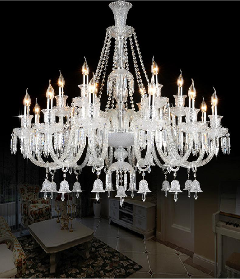 Creative of Luxury Chandelier Lighting Luxury Large Modern Crystal Chandelier Lights Glass Arms Candle