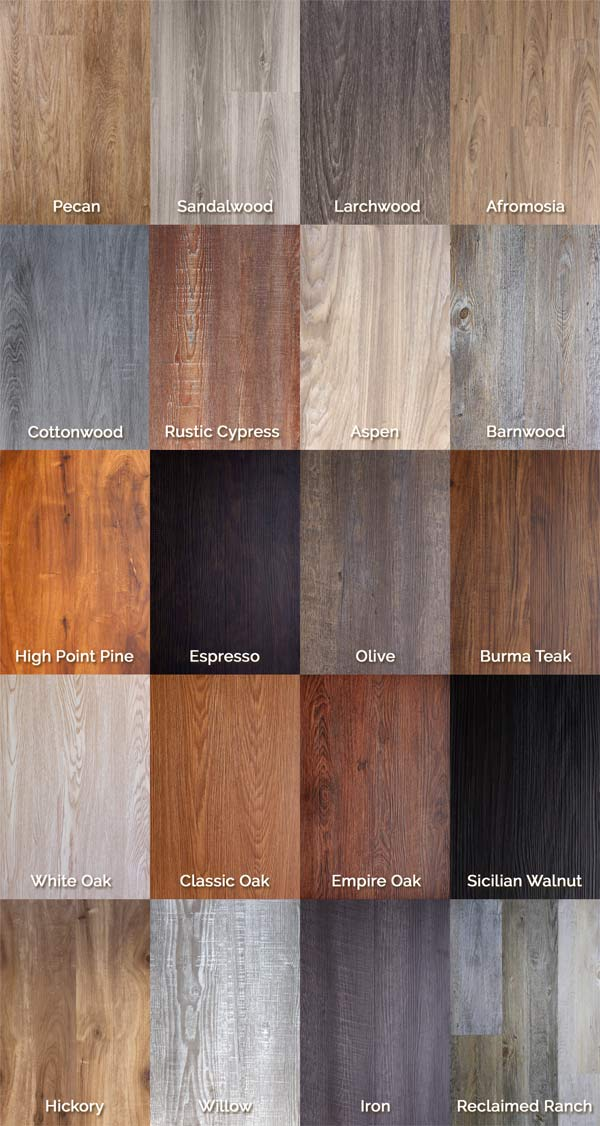 Creative of Luxury Click Vinyl Luxury Vinyl Flooring Wood Grain Planks Trident Click Flooring