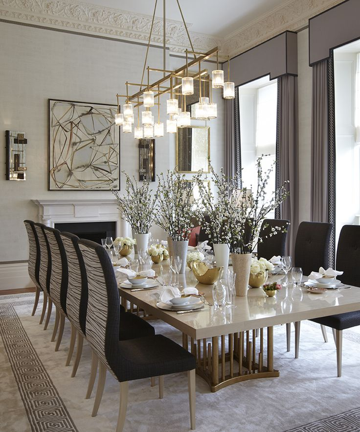 Creative of Luxury Dining Room Decor Best 25 Luxury Dining Room Ideas On Pinterest Luxury Dinning