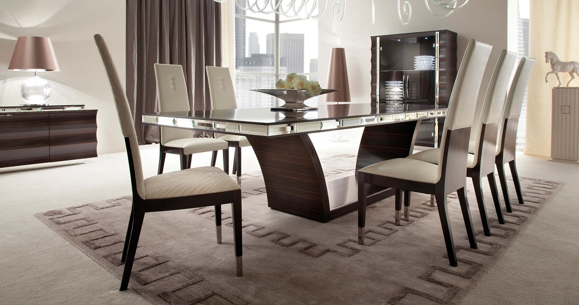 Creative of Luxury Dining Tables Exclusive Andreotti Presents Giorgio Collection Luxury Kitchen