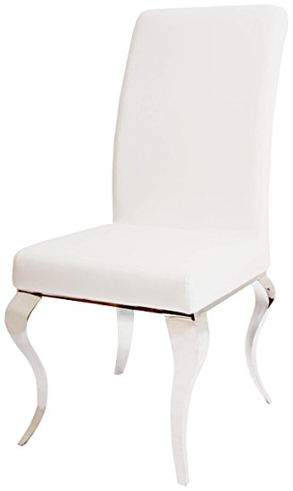 Creative of Luxury Leather Dining Chairs Dining Chairs Astounding Ivory Faux Leather Dining Chairs Ivory