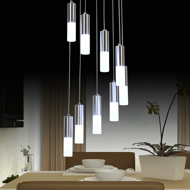 Creative of Modern Led Chandeliers Modern Led Chandelier Lighting Dining Room Fixture Diy Simple Lamp