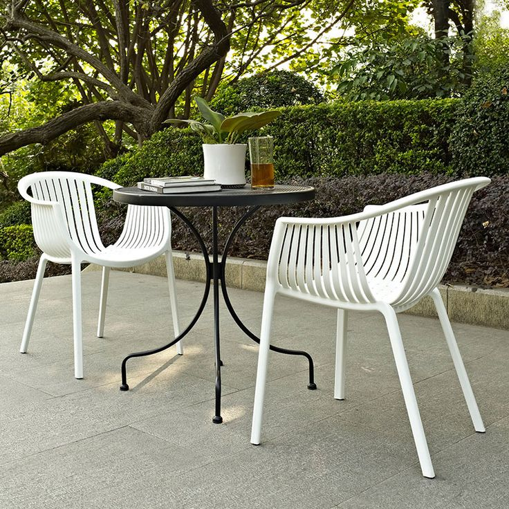 Creative of Modern White Outdoor Chairs Hampstead Stacking Dining Chair White Pottery Barn For Outdoor