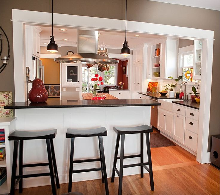 Creative of Open Kitchen Design I Like The Set Up With The Kitchen Triangle And The Colors More