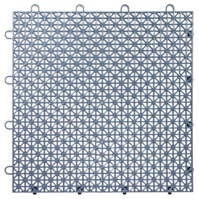 Creative of Plastic Floor Tiles 12x12 Armadillo Interlocking Plastic Floor Tiles Set Of 9
