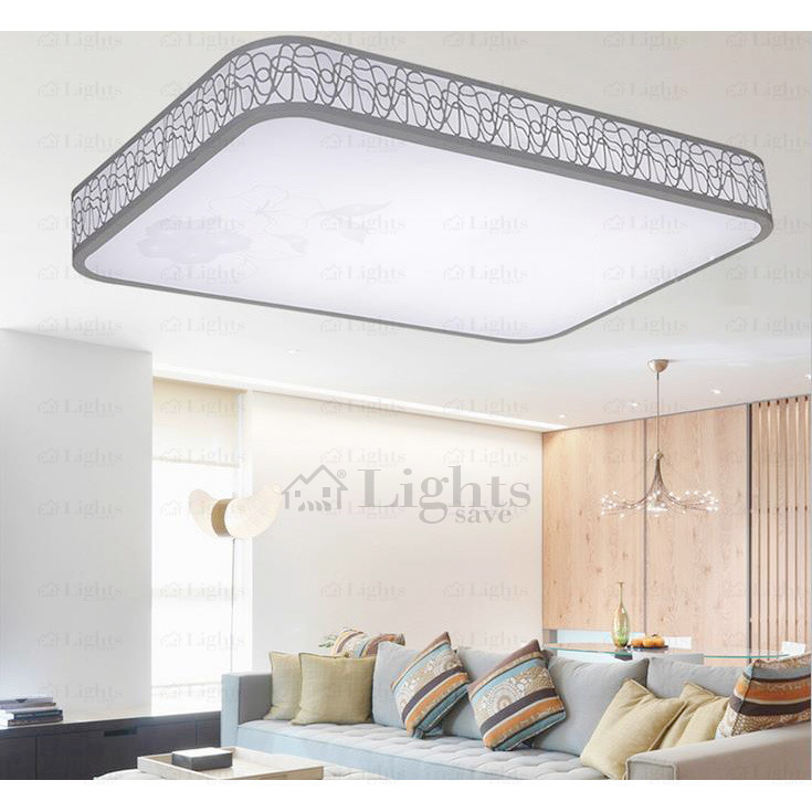 Creative of Simple Ceiling Lights Simple Modern Rectangle Flush Mount Led Bedroom Ceiling Lights