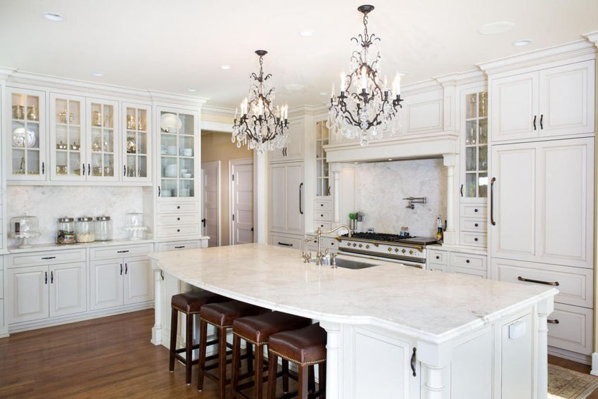 Creative of White Kitchen Designs 30 Beautiful White Kitchens Design Ideas Designing Idea