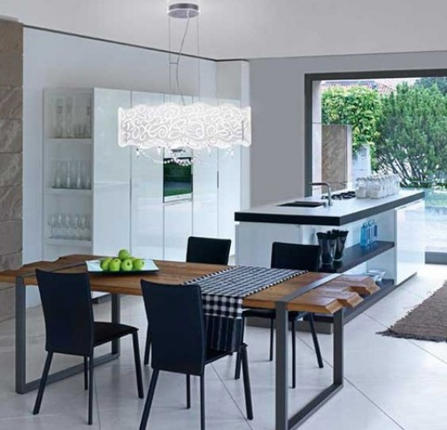 Elegant Contemporary Dining Light Fixtures Modern Dining Room Lighting Fixtures Pleasing Inspiration Dining