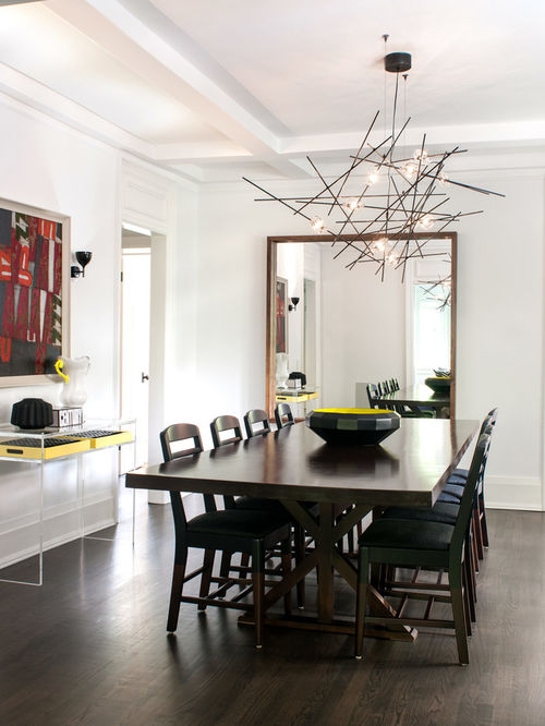 Elegant Contemporary Dining Room Lighting Modern Dining Room Lighting Houzz